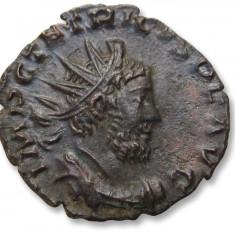 Antoninianus Impreiu Roman COLOGNE (Koln) Mint 268 A.D