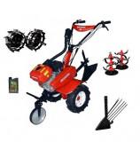 Motocultor Rotakt ROG80, 7 CP, carcasa transmisie fonta + Roti metalice + Plug scos cartofi + Cadou ulei