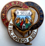 I.819 ITALIA INSIGNA TURISM MUNTII ALPI PASSO SELLA, PORDOI, FALZAREGO email