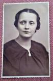 Portret de femeie. Fotografie datata 1937 - Foto-Artistic G.I. Hansa