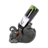 Suport sticle de vin Elefant 23 cm