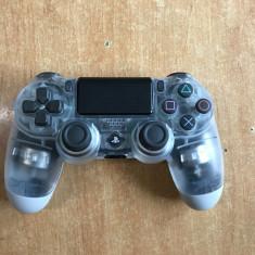 Controler Sony Dualshock 4 V2, Playstation 4, transparent, original