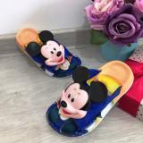 Cumpara ieftin Papuci albastri de vara cu Mickey pentru copii baieti 29 30 31 32