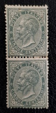 Italia Regat 1863, 5c pereche verticala(RAR), Sass.nr.16, Val.Cat. 5000euro+++, Nestampilat