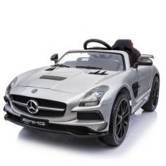 Masinuta electrica Mercedes SLS STANDARD 2x 25W 12V Gri