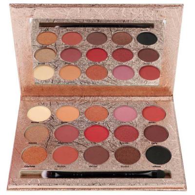 Paleta Profesionala de Farduri KISS CROWN Gladshein 15 Color Eyeshadow Palette foto