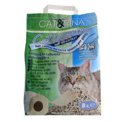 Asternut Igienic - Celuloza - Cat&Rina - 8 L - 1470 foto