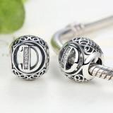 Cumpara ieftin Talisman din argint cu litera D