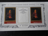 Bloc timbre pictura Rembrandt nestampilat URSS timbre arta timbre picturi
