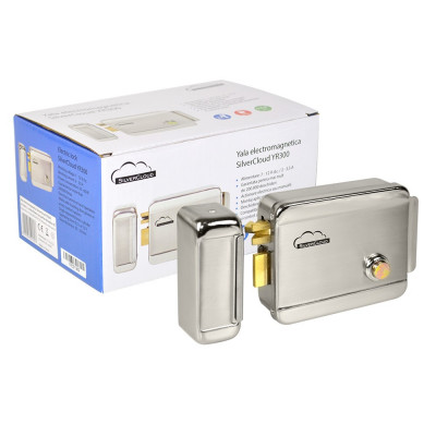 Resigilat : Yala electromagnetica SilverCloud YR300 cu butuc, cu deschidere pe par foto