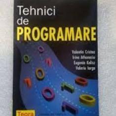 Iorgu Cristea Tehnici de programare Teora