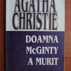 Agatha Christie - Doamna McGinty a murit