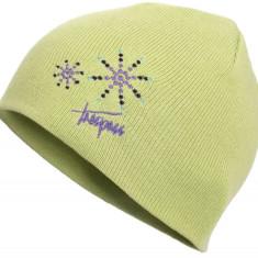 Caciula fete Trespass Sparkle verde 5/7 ani