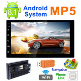 Navigatie Auto Android Casetofon Player Mp5 Video GPS 7' inch 2DIN MP3
