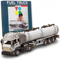 Joc creativ 3D Fuel Truck