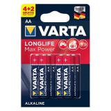 BATERIE ALCALINA LR06 MAX POWER VARTA BL 6BUC