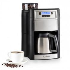 Klarstein Aromatica II Thermo, mașină de cafea, râșniță, 1.25 l, argintie