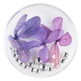 Cumpara ieftin Flori Uscate Unghii LUXORISE cu cristale - Floral Fairytale #19