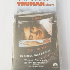 Caseta video VHS originala film tradus Ro - Truman Show