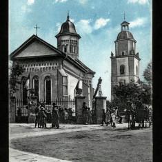 Carte Postala Veche Circulata BUKOWINA Bucovina Suczawa Suceava Sf Dumitru, Fotografie