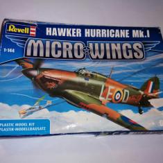 bnk jc Kitt Revell Hawker Hurricane Mk I - 1/144