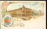 "Carte postala ilustrata, Franta, Paris, Noile Galerii ""a la Menagere"", scrisa"
