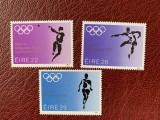 Irlanda - Timbre sport, jocurile olimpice 1984, nestampilate MNH, Nestampilat