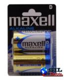 Baterie alcalina R20 (D) 2 buc/folie Maxell