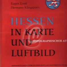 Hessen in Karte und Luftbild