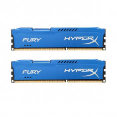 Memorie HyperX Fury Blue 16GB DDR3 1866 MHz CL10 Dual Channel Kit
