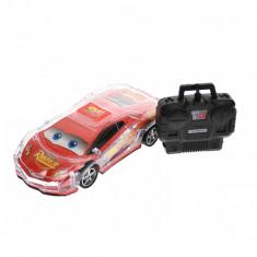 Masina cu telecomanda de jucarie, Fulger McQueen, CARS, rosie - 036