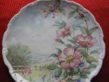 FARFURIE DECORATIVA PORTELAN ENGLEZESC ROYAL ALBERT FINE CHINA WILD ROSE