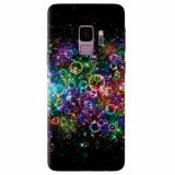 Husa silicon pentru Samsung S9, Rainbow Colored Soap Bubbles