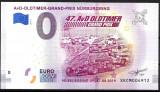 0 EURO SOUVENIR - GERMANIA , NURBURGRING , OLDTIMER - 2019.2 - UNC /CEA DIN SCAN