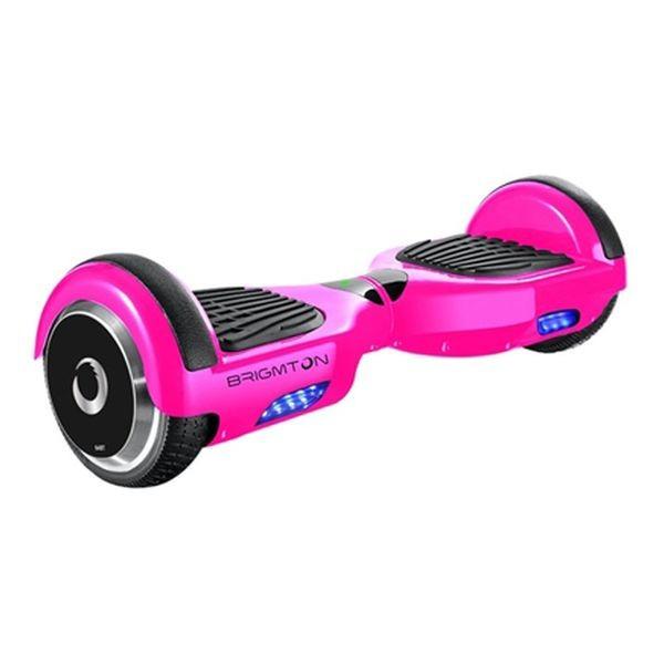 """Trotinetă Electrică Hoverboard BRIGMTON BBOARD-64BT-P 6,5"""" 4400 mAh Bluetooth 700 W Roz"""