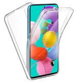 Husa Protectie 360° Fully PC & Glass (TPU + Plastic) Samsung Galaxy S10 Lite