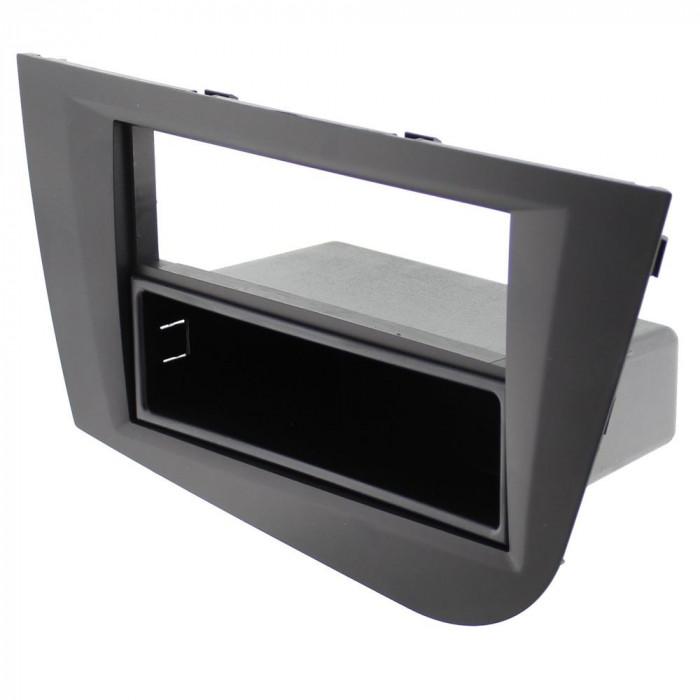 Rama adaptoare Seat Leon, negru, 2ISO, ACV - 000439