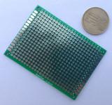 Placa test PCB 5 x 7 cm, prototip / prototype Arduino (p.261)