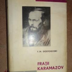 Fratii Karamazov (editie de lux ) an 1965/1045pag- Dostoievski