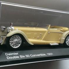 Macheta Daimler Double Six 50 Convertible 1931 - WhiteBox 1/43 - noua