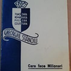 Plic Loterie Colectura Gheorghe Stănoiu