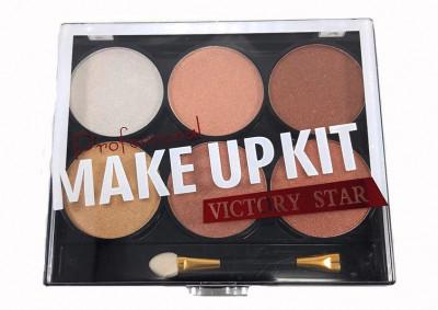 Trusa Fard Victory Star MakeUp Kit Maroons foto