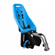 Scaun transpot copii pentru bicicleta montare spate Thule Yepp Maxi Frame mounted Blue