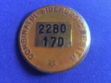 Insignă industrie  - Insignă România - Insignă Combinatul Siderurgic Reșița
