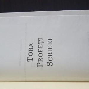 Tora Profeti Scrieri  Cornilescu Version 1921