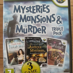 Mystery mansions&murder - Triple pack -  PC DVD-ROM