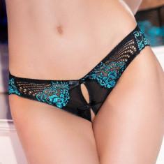 Bikini Blue Lace Panty, Chilirose