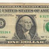 Bancnota -USD- Statele Unite ale Americii 1 Dolar $ - 1995 / A023