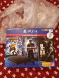 Consola PlayStation 4 1TB plus 4 jocuri, noua, sigilata