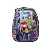 Ghiozdan pentru baietei cu imprimeu 3D NN Ultimate Team GBUT1-N, Multicolor